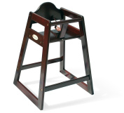 Foundations 4501859 Foundations Wood High Chair Antique Cherry