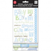 Me& My Big Ideas GVP-25 Glitter Stickers Value Pack