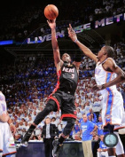 Photofile PFSAAOY22001 Dwyane Wade Game 2 of the 2012 NBA Finals Action Photo Print -8.00 x 10.00