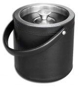 Dacasso A1060 Black Leather Ice Bucket