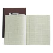TOPS Computation Notebook, 30cm x 23cm , 4 x 4 Quad, 75 Sheets