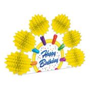 Beistle 57700 Happy Birthday Pop-Over Centrepiece