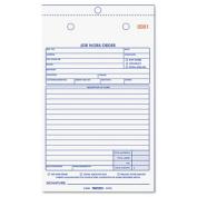 Rediform 4L456 Job Work Order Book 5 .5 x 8 .5 Two Part 50-Book