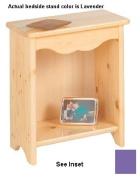 Little Colorado 086LAV Toddler Bedside Stand in Lavender