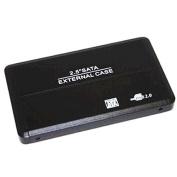 Sabrent 6.4cm SATA to USB 2.0 Portable Hard Drive Enclosure : EC-UST25