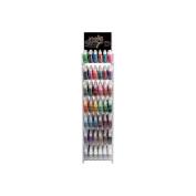 Stickles Glitter Glue .150ml Assortment W/Acrylic Rack & Sign-6 Each / 45 Colours