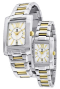 Nobel Watch N 7101 G Stainless Steel Two-tone Gents Watch Sapphire Crystal Swiss Movement Water-resistant 3ATM