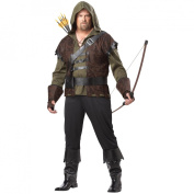 Men's Robin Hood Plus Costume - One Size Fits Most