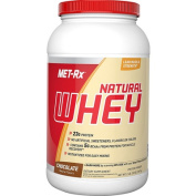 Met-Rx 1139047 Instantized Natural Whey Protein Chocolate - 0.9kg