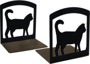 Village Wrought Iron BE-6 Cat Bookends