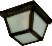 Maxim Lighting 6204FTBK Maxim. 2-Light Outdoor Ceiling Mount - Black