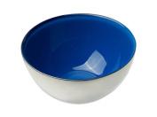 MoMo Panache 807242 Condi Bowls Silver with Sapphire Blue inner pair