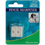 Pro-Art 456029 Pro Art Double Pencil Sharpener