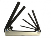 Eklind Tool Company EKL21151 Hex Key Set 5 Pc Folding Metric 3-10Mm
