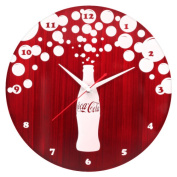 Coca-Cola Bursting Bubbles Wall Clock