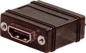 Comprehensive HDJ-BLCM HDMI Jack to Jack Chassis Mount