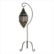 SWM 12575 Moroccan Candle Lantern Stand