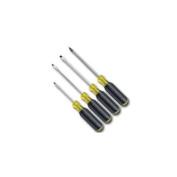 Klein Tools KLE85484 4 Piece Mini Cushion Grip Screwdriver Set