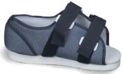 Mabis 530-6046-0122 Blue Mesh Post-Op Shoe - Mens - Medium