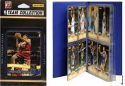 C & I Collectables 2010CAVSTS NBA Cleveland Cavaliers Licenced 2010-11 Donruss Team Set Plus Storage Album