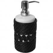 Elegant Home Fashions 90304 Sebrina Lotion Dispenser - Dark Espresso