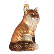 Cobane Studio COBANED387 Red Fox Ornament