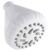 Ldr Industries 520-1150WT Nature Mist One Function Shower Head