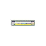 North Star Teacher Resource NST9043 Contemporary Cursive Desk Plate 17-.50 X 4 36Pk