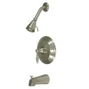 Kingston Brass KB2638KL Pressure Balance Tub & Shower Faucet - Satin Nickel
