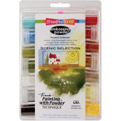 Stampendous Embossing Powder Selection 14/pkg, Scenic, Multi Colour