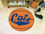 Fanmats 3328 COL - 70cm . diameter - Montana State University Basketball Mat