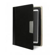 Cygnett Ipad3 Case Alumni Canvas Folio - Black - CY0711CIALU