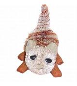 Brushart BRUSHOR110 Kitten Marmalade Ornament