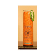 Aloha Bay 0278358 Unscented Chakra Jar Love Svadhishthana Orange - 1 Candle