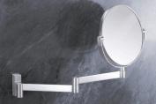 Zack 40109 FRESCO wall mirror extend. Stainless Steel