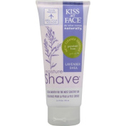 Kiss My Face 0125344 Moisture Shave Lavender and Shea - 3.4 fl oz