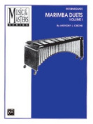 Alfred 00-PERC9501 Music of the Masters- Volume I- Marimba Duets - Music Book
