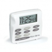 West Bend 40053 Electronic Timer Clock - Stopwatch