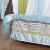 One Grace Place 10-33015 Puppy Pal Boy Twin Bed Skirt