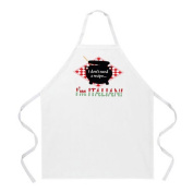 L. A. Imprints 2028 Italian Recipe Cooking Apron
