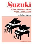 Alfred 00-0749 Suzuki Piano Ensemble Music- Volume 1 for Piano Duet - Music Book