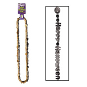 Beistle 00149 Happy Halloween Beads of Expression - 2-pkg
