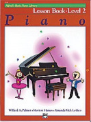 Alfred 00-2108 Basic Piano Course- Lesson Book 2 - Music Book