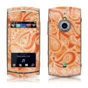 DecalGirl SVVZ-PAISORN Sony Ericcson Vivaz Pro Skin - Paisley In Orange