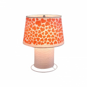 Creative Motion Industries 12863 Heart Desk Lamp