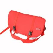 Blancho Bedding MB-B8026-RED Street Design - Red Multi-Purposes Messenger Bag / Shoulder Bag