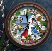 Reflective Art 29000-D Wildlife Clock Display