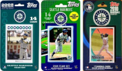 C & I Collectables MARINERS3TS MLB Seattle Mariners 3 Different Licenced Trading Card Team Sets