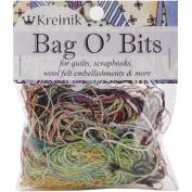 Kreinik KMBITS Bag O Bits Metallic Thread-11 Grammes