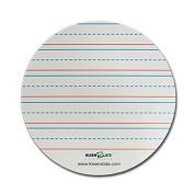 Kleenslate Concepts Llc. KLS71436 Circles Manuscript Lined Replacement Dry Erase Sheets